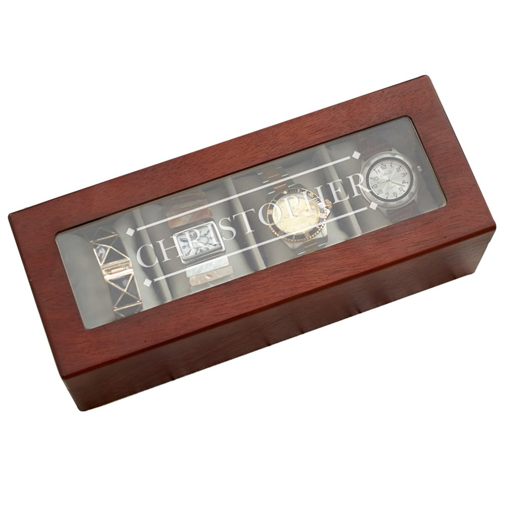 Giftsforyounow Engraved Any Name Personalized Watch Box