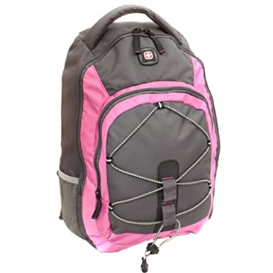 Amazon.com: SwissGear Mars Women's Computer Backpack, Pink, 16 ...