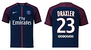 100% authentic new product new cheap Trikot Herren Paris Saint-Germain 2017-2018 Home - Draxler ...