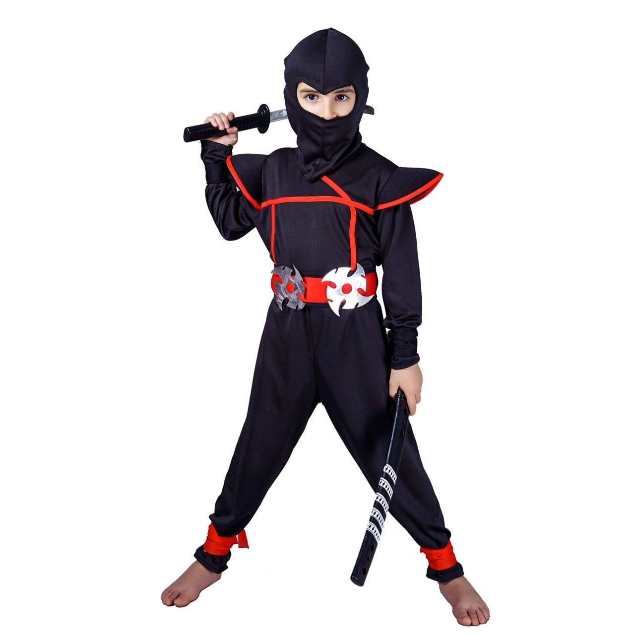 Amazon.com: Flatwhite disfraces infantiles de ninja: Clothing