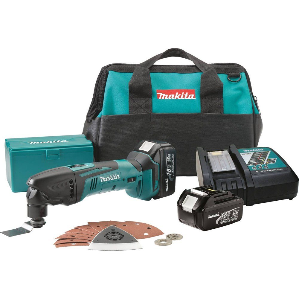 Makita LXMT025 18-Volt LXT Lithium-Ion Cordless Multi Tool Kit (Discontinued by Manufacturer)