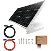100W 12V Paneles solares monocristalinos 100 vatios 12 voltios solar módulo Mono ideal para autocaravanas casa de jardín…