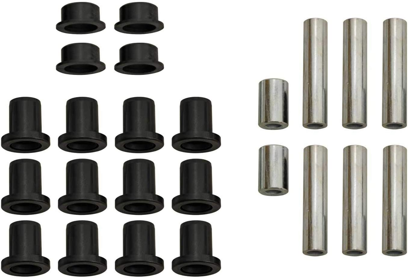 Much Stronger Than Stock! SuperATV Heavy Duty UHMW A-Arm//Control Arm Bushing Kit for Polaris RZR S 1000 2017+ - Front and Rear