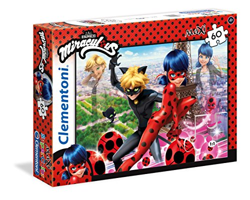 Clementoni Miraculous Ladybug Miraculuos Supercolor Puzzle Maxi 60 Pezzi 26427