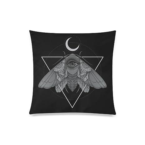 BEAYCUSHIONS Personalizado Mariposa Nocturna de llew Mejia ...