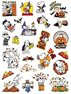 Amazon.com: Peanuts Halloween Foil Stickers: Toys & Games