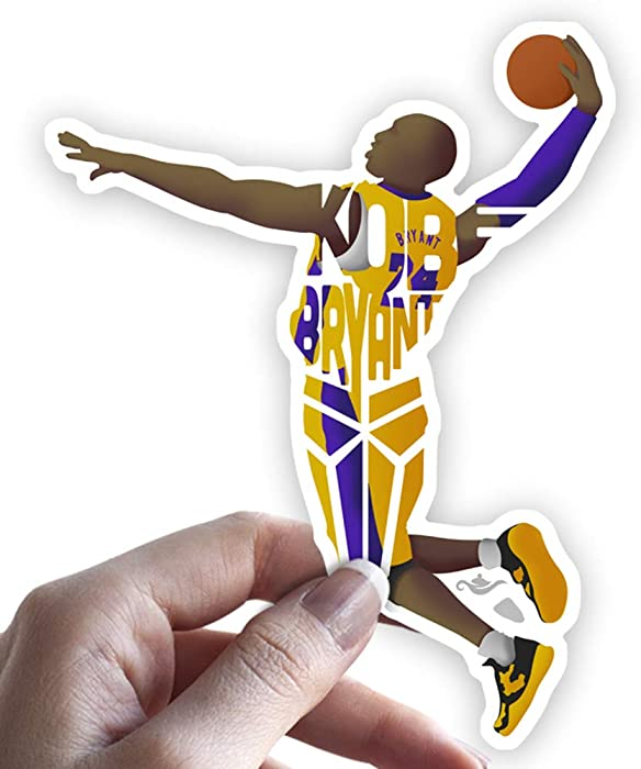 Top 9 Laptop Stickers Lakers