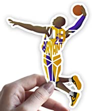 Grantedesigns Kobe Bryant Sticker Basketball Decal for Laptop or Any Flat Surface