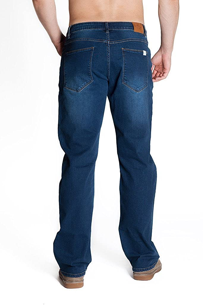 Barbell Apparel Mens Relaxed Athletic Fit Jeans