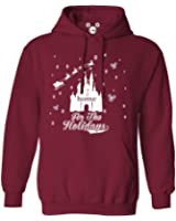 DisGear Women's Disney Home For The Holidays Hoodie, Candy Cane