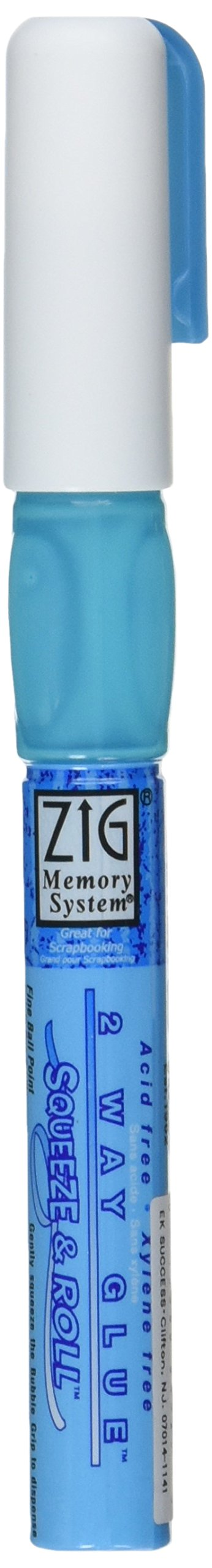 EK Tools Zig Memory System 2-Way Squeeze and Roll Glue Pen,.