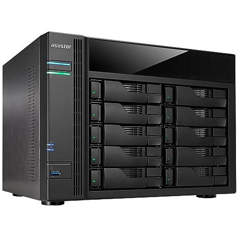 Asustor AS-5110T NAS Ethernet WiFi Negro - Unidad Raid (Unidad de ...