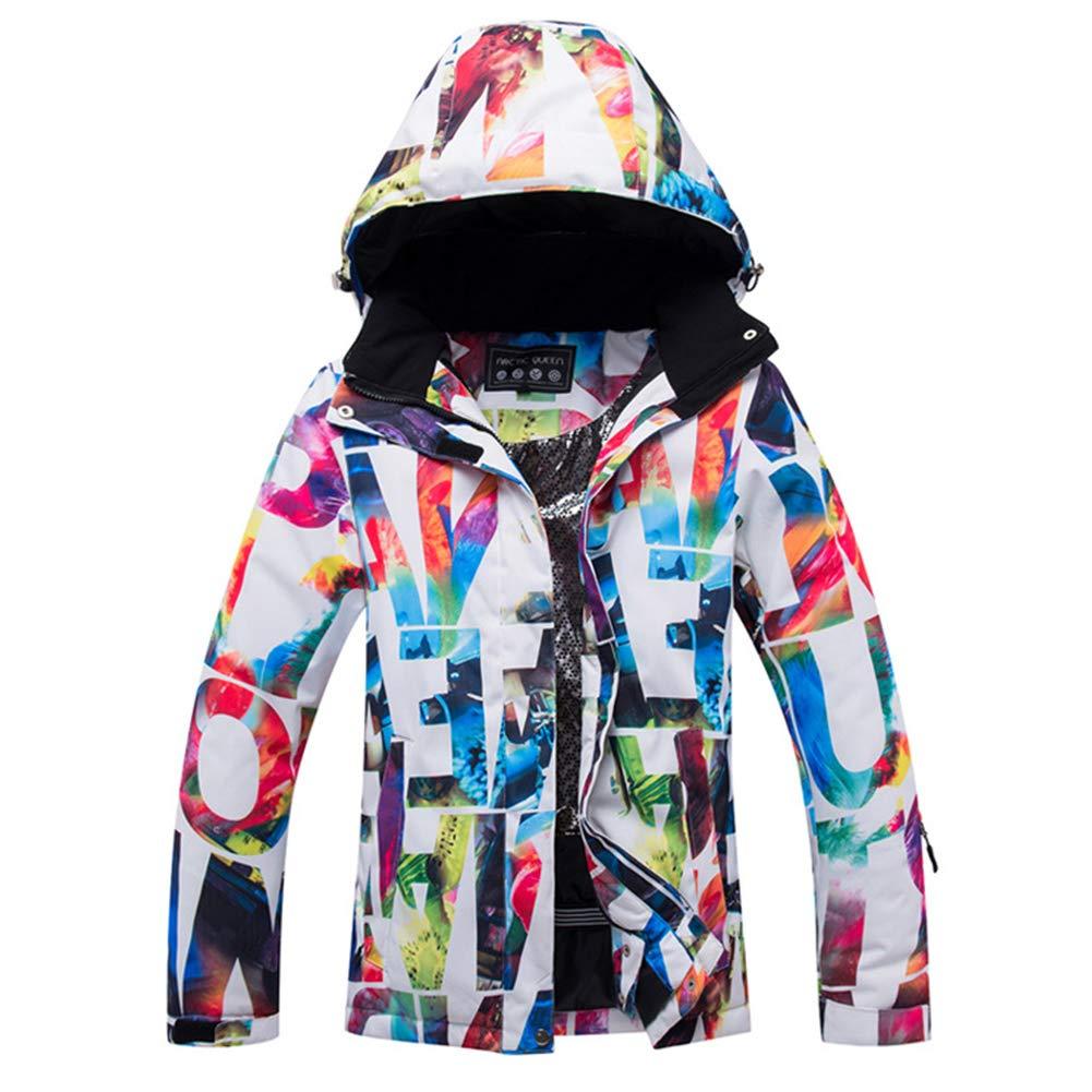 S elegantstunning Veste en Plein air épaissie Chaude imperméable au Vent de Costume de Ski extérieur de Femmes