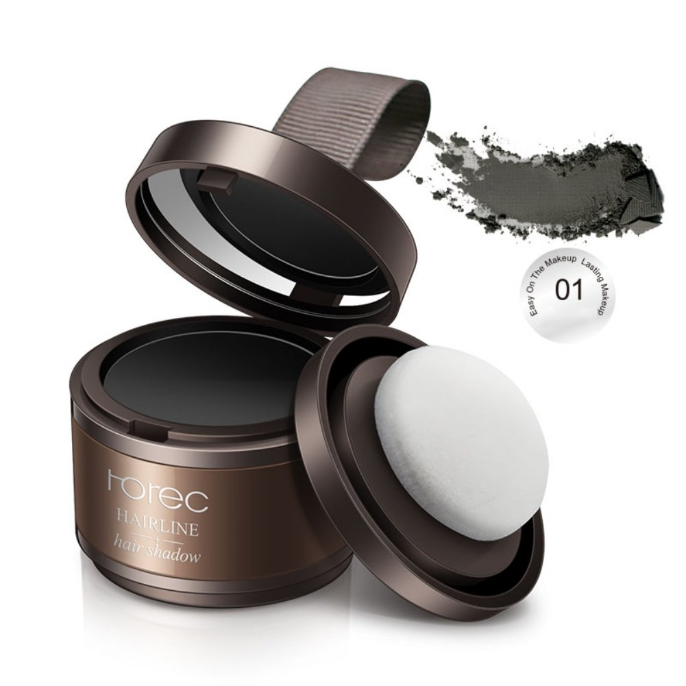 Allbesta Concealer Hair Colour Powder Lotion Hair Line Modified Shadow Powder Natural Bronzer Highlighter Pomade Hair Thickening Dark Brown
