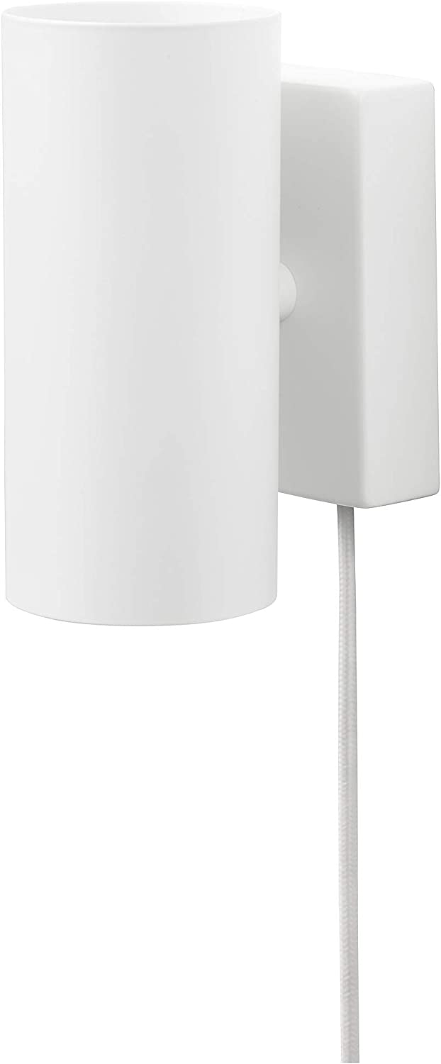 IKEA 003.978.59 Nymåne - Lámpara de techo para pared, color blanco ...