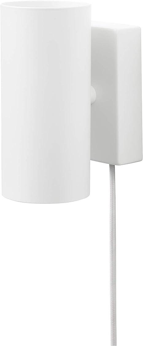 IKEA 003.978.59 Nymåne - Lámpara de techo para pared, color blanco ...