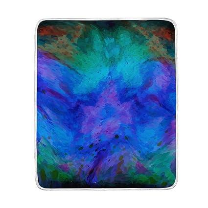 Amazon Com Jereee Oil Painting Soft Warm Throw Blankets Lightweight