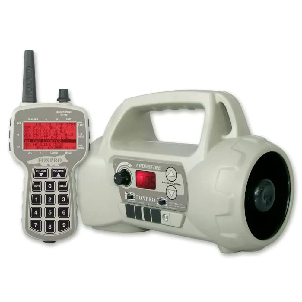 FOXPRO Crossfire Portable Programmable Electric Game Call Crossfire