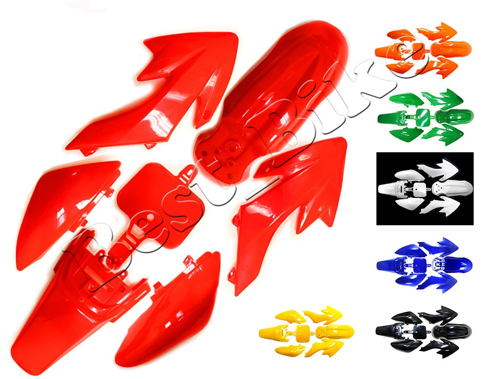 Plastic Fairing Fender Kit for Honda XR50 CRF50 CRF 50 XR 50 SSR SDG 107cc 125cc Chinese Dirt Pit Bike