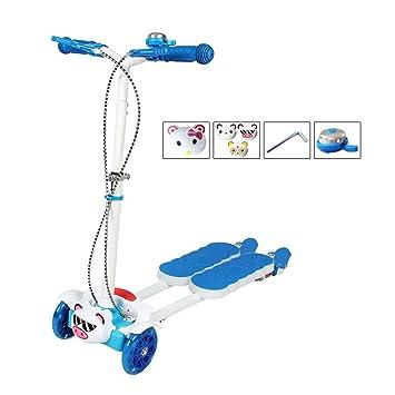Amazon.com: AIBAB - Pedal plegable para patinete de cuatro ...