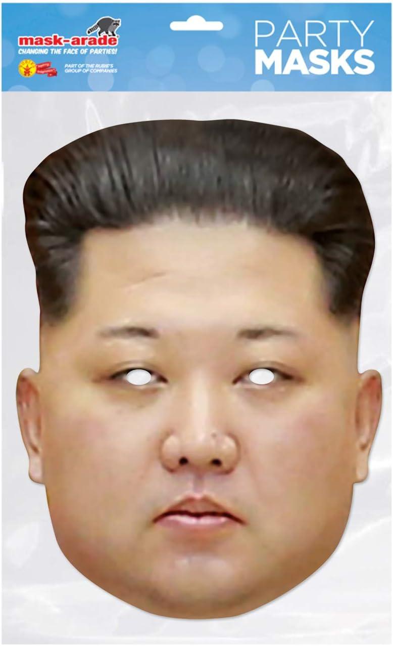 Rubies - Careta de Kim Jong Un (Rubies KJONG01): Amazon.es ...