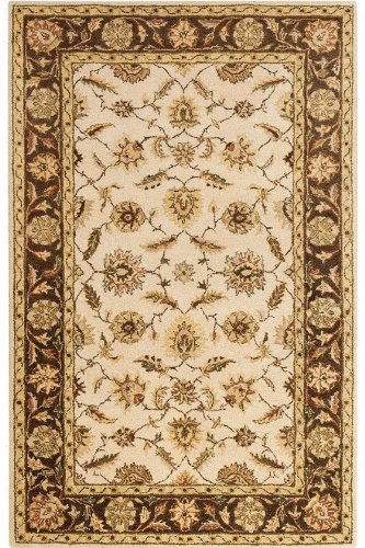 Old London Area Rug, 6'x9′, BEIGE