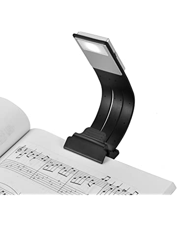 Clip On Book Light USB Rechargeable LED Reading Lamp Eye Care Double As Bookmark Desk &
