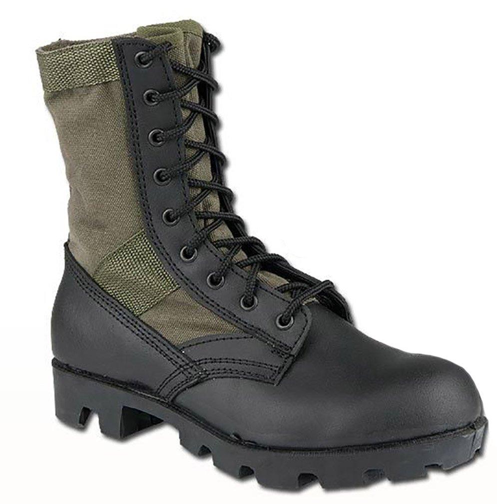 Amazon.com  CamoOutdoor US Army Combat Vietnam Era Jungle Mens Boots  Military Panama Sole Olive  Sports   Outdoors 6d28f595f32