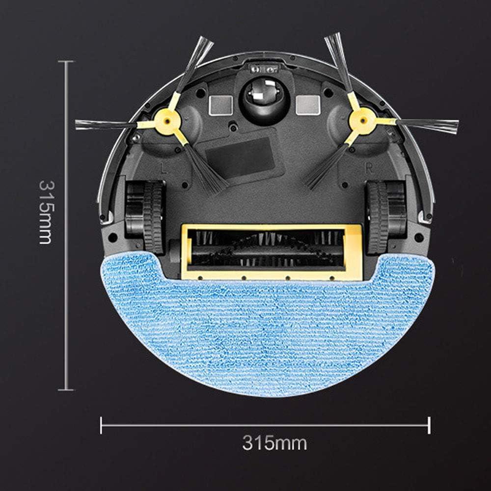 Thumby La Planification de Toute la Maison Robot de Balayage Intelligent avec APP et Appareil Photo jianyu (Color : Black) Black