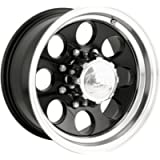 Ion Alloy 171 Black Wheel with Machined Lip (15x8'/5x114.3mm)