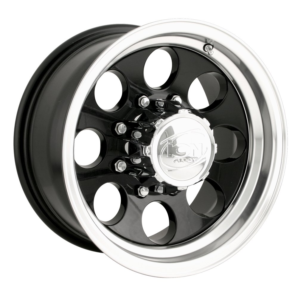 All Chevy black chevy rims : Amazon.com: Ion Alloy 171 Polished Wheel (16x10