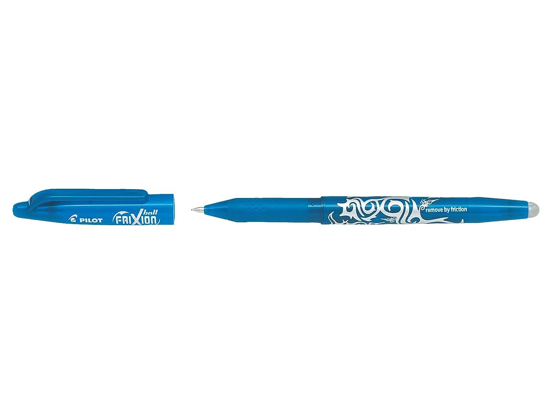 Gr/ün radierbar 2x Schwarz 2x Blau PILOT 5er Set FriXion Ball Tintenroller 0,7 mm farblich sortiert