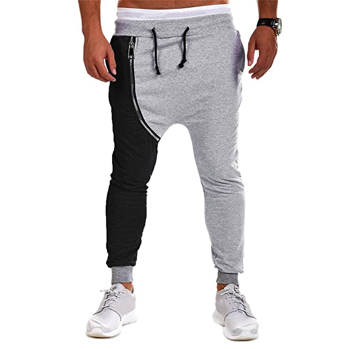 Gusspower Pantalones Deportivos Ajustados elásticos para Hombres ... b96ac5b11ff