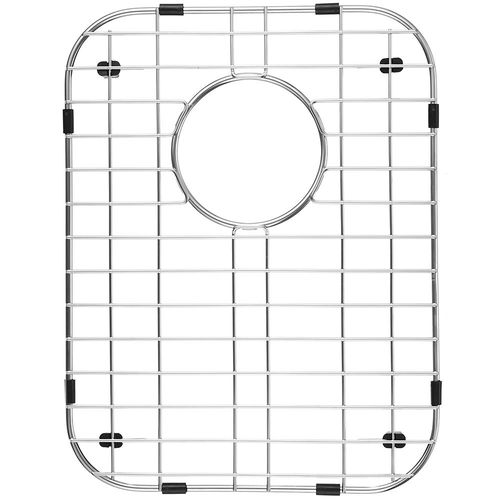 "Serene Valley Sink Protector and Kitchen Sink Bottom Grid NDG1317, 304 Premium Stainless Steel, dim 11 7/8"" x 15 3/8"""