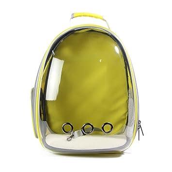 Mascotas Jaula para Amarillo Transparente Espacio Cápsula ...