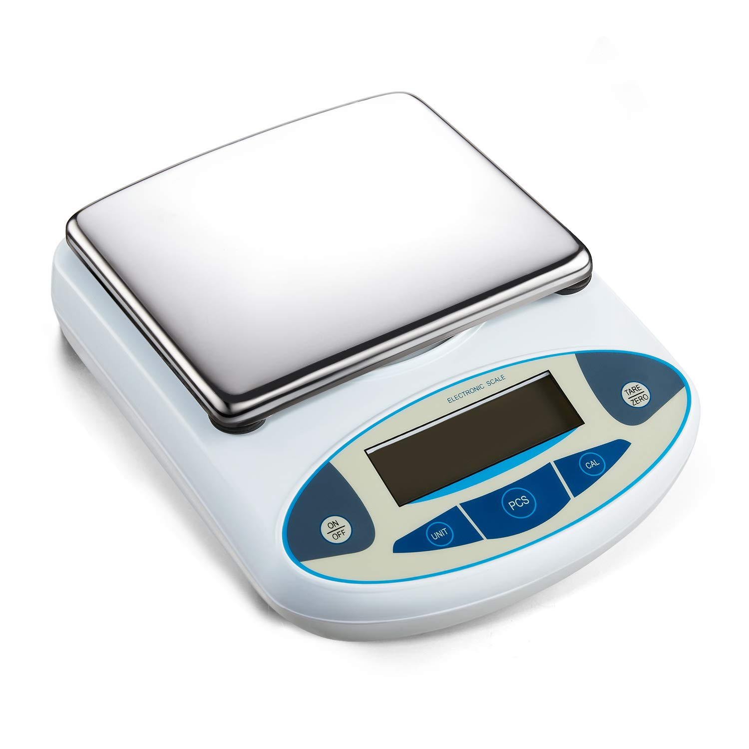 Wellish High Precision 5000g//0.01g Lab Scale Digital Analytical Electronic Balance Jewelry Scale Accuracy Scales Kitchen Electronic Scale