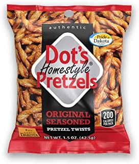 product image for Dots Homestyle Pretzels 1.5 oz. Bags (50 Pack) Lunchbox Sized Seasoned Pretzel Snack Sticks