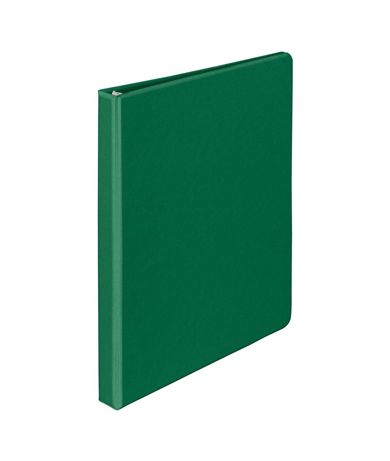 School Smart Vinyl Binder - 1/2 inch - Green