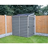 Palram SkyLight Lean-To Storage Shed - 4 x 6 ft.