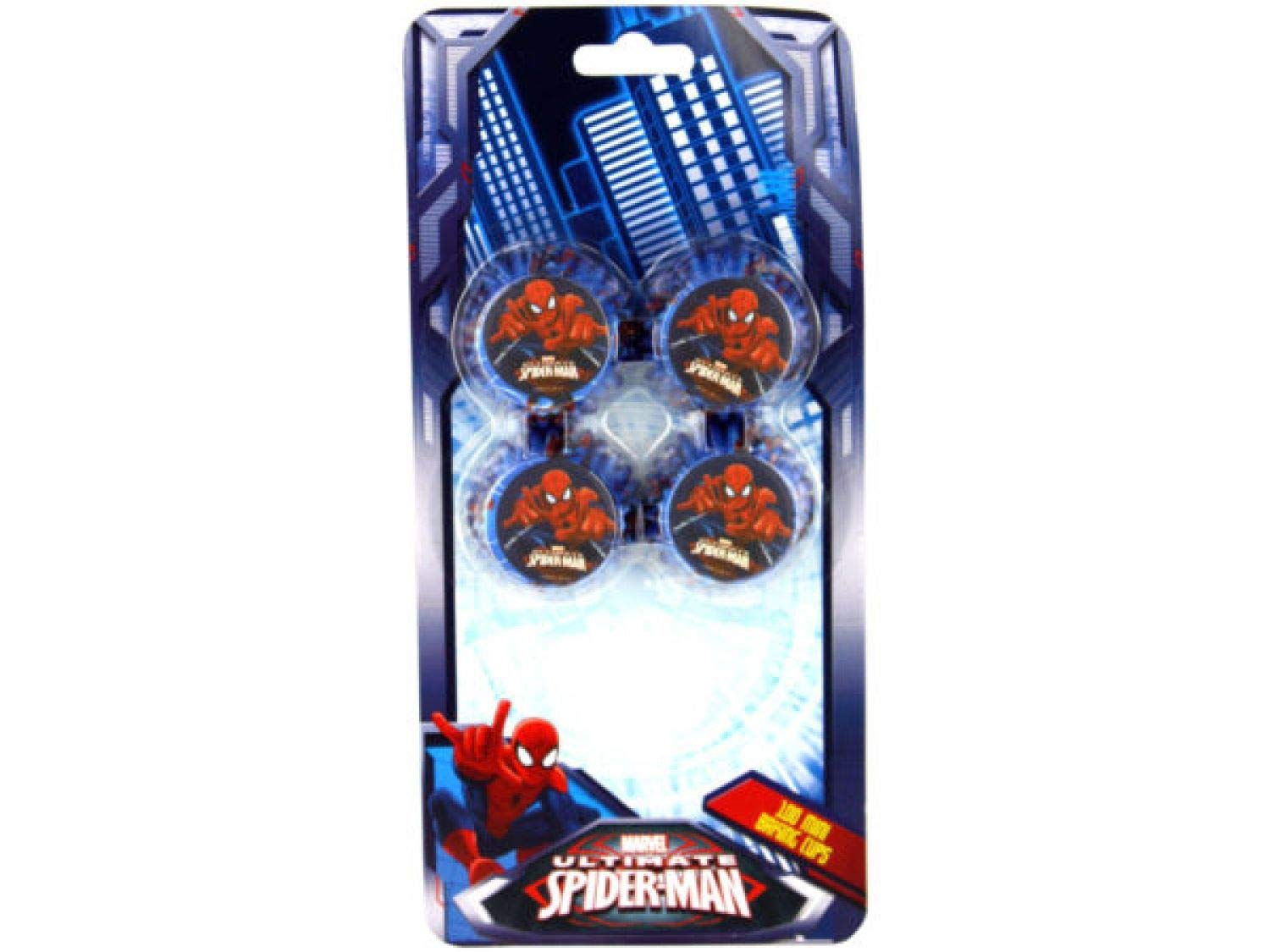 bulk buys 100 Count Spider-Man Mini Cupcake Liners - Set of 24 by bulk buys