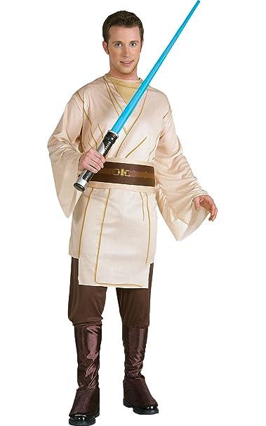 Amazon.com: Qui-Gon Jinn Costume, XL, Multicolor: Clothing