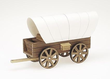 Amazoncom Darice 9181 24 Wooden Model Cover Wagon Kit 85 X 45