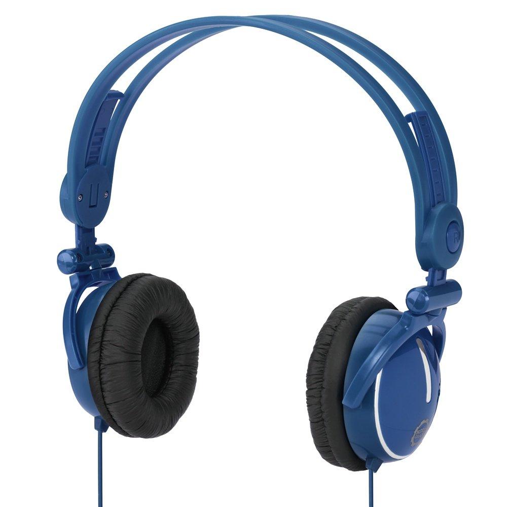 Kidz Gear Fold-flat Travel Headphones - Blue