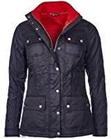 Barbour Womens Bartlett Quilted Jacket Navy Size UK12/ US 8