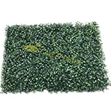 homeaid group Artificial Boxwood Hedges 20″ x 15″ Green. Privacy Fence Screen. Out Door, Wall Home Decoration. Review