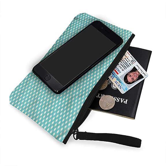 Amazon.com: Bolsas de monedas para mujer, retro, azulejos a ...