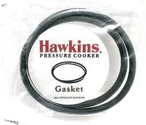 Hawkins B10-09 Gasket for Sealing Ring, 3.5 to 8-Liter Pressure Cooker, Black (2 Pack)