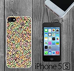 Colorful Cereal O's Custom made Case/Cover/skin FOR iPhone 5/5s by supermalls