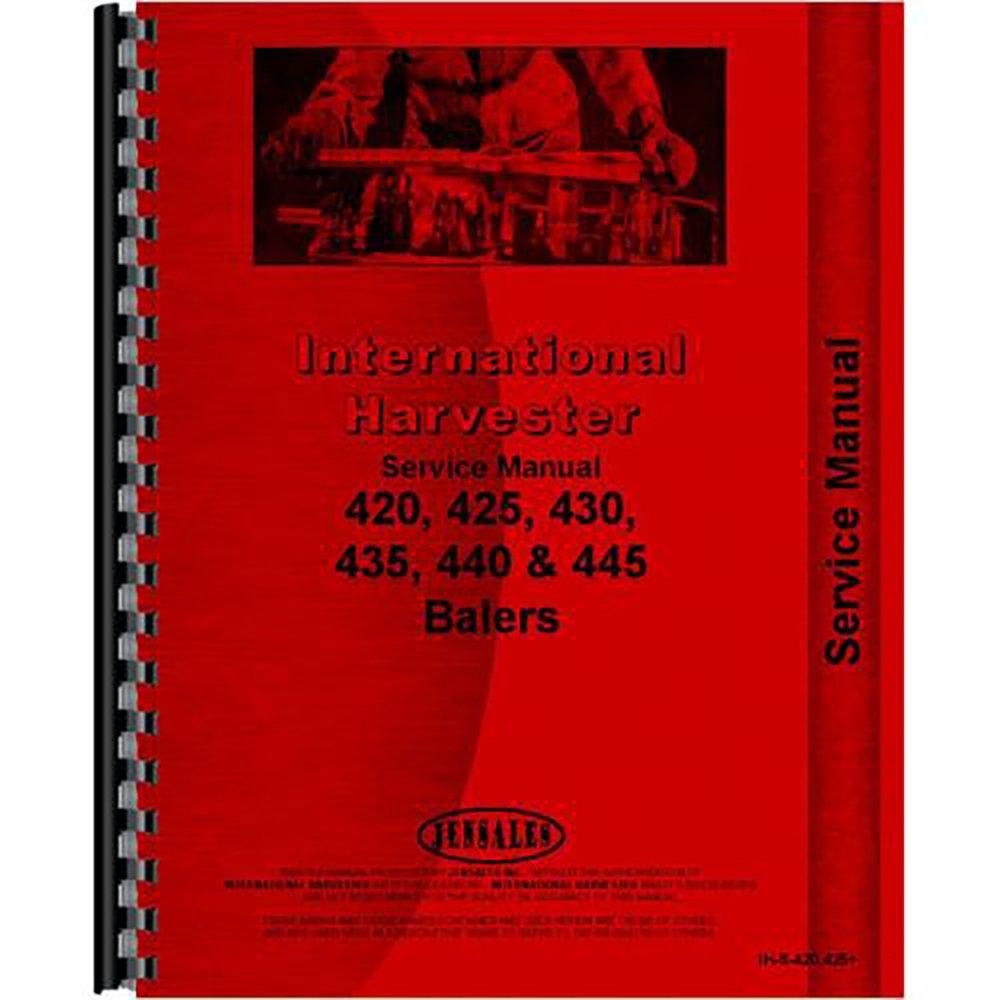 Amazon.com: New International Harvester 440 Baler Service Manual:  Industrial & Scientific