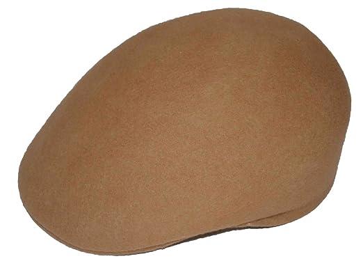 23ee1162bd1 KB Ethos 100% Wool Felt Crushable Ascot Ivy Cap Hat at Amazon Men s ...